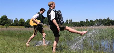Zwoaralloa machen Unterhaltungsmusik für Hochzeiten und mehr …